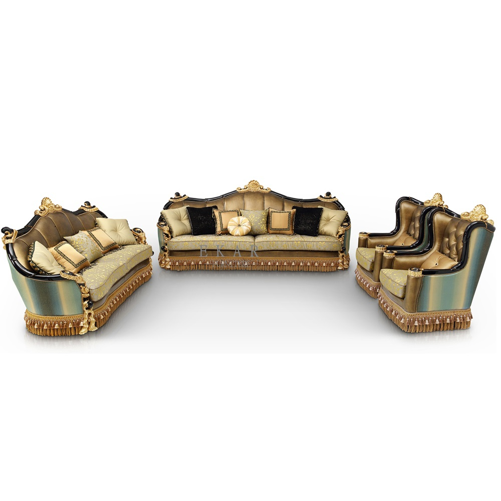 New Designs Green And Golden Sofa Sets Prices In Malaysia, Vintage Couch