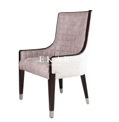 Fabric Modern Wooden Dining Chair