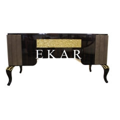 Luxury Style High Class Wooden Office Desk with Three Colors