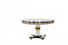 Italy Fancy High Class Good Quality Round dining table
