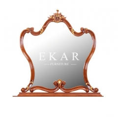 Classical Wooden Makeup Mirror Dressing Mirror