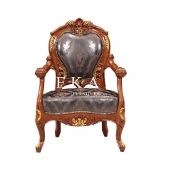 Antique Furniture Solid Wood Chair Leisure Chair