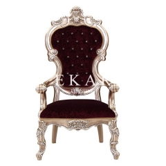 Carved Leisure Chair Lounge Chair For Living Room Furniture