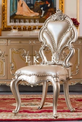 Leather Wood Royal Classic Armless Chair Price