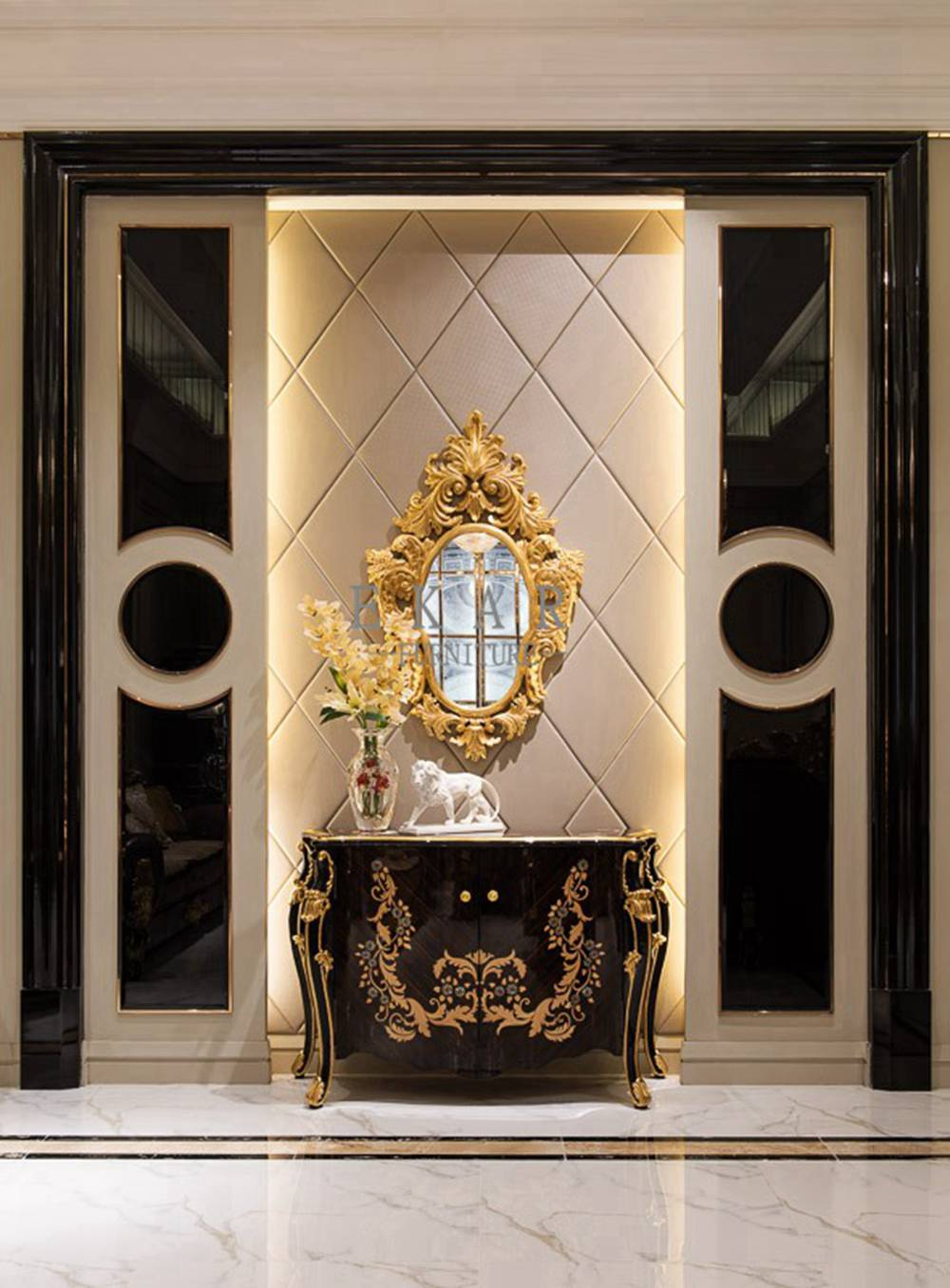 Chinese Lobby Console Table , Classic Entry Table,Entrance