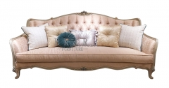 Retro Style Bedroom Furniture Plush Couch For Sale