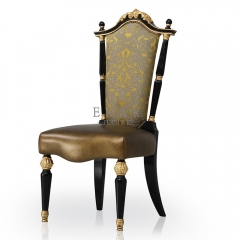 Fancy Furniture Antique Dining Chair without Armrest
