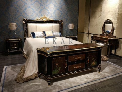 White Wood Queen Bed King And Frame