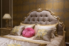 Full Size Tufted Upholstered Headboard King Bed Frames For Sale
