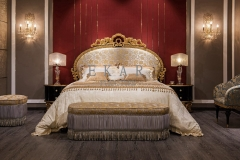 Italian classic Furniture Antique Bedroom Bench Bed Stools Bedroom Ottoman Furniture