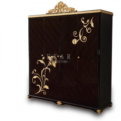 Palace Style Bedroom Set Wardrobe Cabinet Design