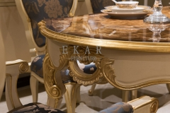 New Luxury  Veneered Wooden  Dining Table/Kitchen Table/Dinette Table