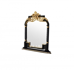 2017 The Latest Classical High Class Big and Long Black Vanity Mirror