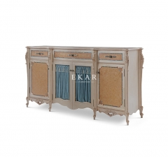 Hand Carving Dining Room Cabinet Antique Sideboard