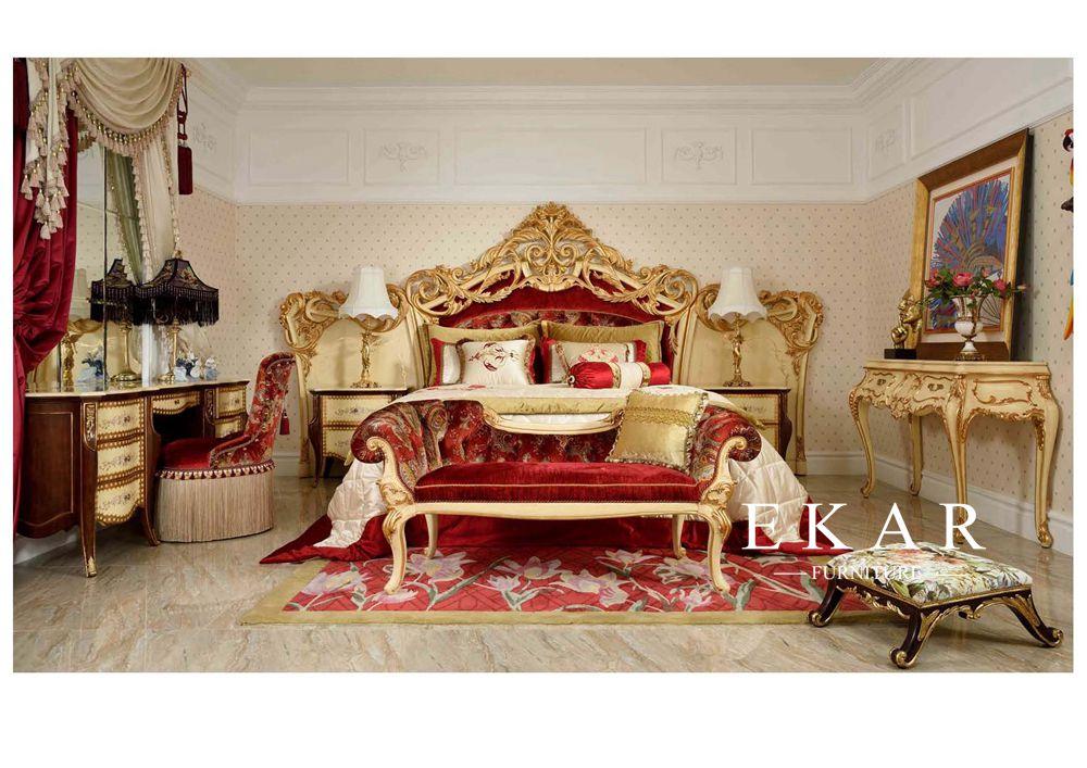 High End European Style Bedroom, European Bedroom Furniture