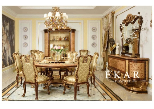 Exquisite French High End Design Dining Room Furniture Sets