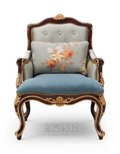 Luxury Royal Furniture Wooden Leisure Chair